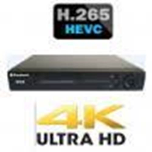 Picture of PRC-6400NE (64 kênh IP 1080P) (4K FOR HDMI) H.265 8 HDD *10TB (Up to 80TB)